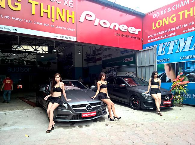 Độc  Chân dài mặc bikini rửa xe hút khách ở Hà Nội 1b5d1b303b