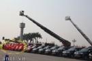'Đột nhập' xe chữa cháy tới 18 tầng tại Hà Nội