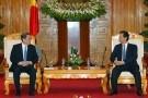 Thủ tướng Nguyễn Tấn Dũng tiếp Chủ tịch Chính Hiệp TƯ Trung Quốc