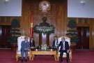 Phó Thủ tướng Nguyễn Xuân Phúc tiếp Bộ trưởng Bộ Tư pháp Lào