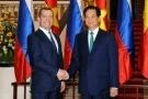 Hội đàm hai Thủ tướng Việt Nam - Liên bang Nga