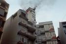 Cháy lớn tại khách sạn Brandi trên phố Duy Tân