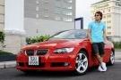 Xe BMW mui trần của Ưng Hoàng Phúc, giá bao nhiêu?