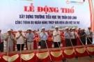 Thống đốc Bình dự lễ Động thổ xây dựng trường tiểu học Gio Linh (Quảng Trị)