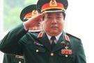 Tổng Bí thư đến thăm đại tướng Phùng Quang Thanh