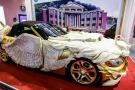 """BMW Z4 mạ vàng hình rồng cực """"khủng"""" ở Trung Quốc"""