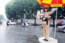Cấm đường để phục vụ Lễ xuất quân và diễn tập bảo vệ Đại Hội Đảng XII