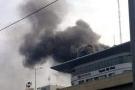 Cháy lớn ở Toyota Mỹ Đình, người dân hoảng loạn tìm lối thoát