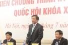 Khai mạc kỳ họp thứ nhất - Quốc hội khóa XIV: Bầu lại nhân sự cấp cao của Nhà nước