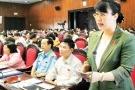 Bà Nguyễn Thị Nguyệt Hường bác tin đồn ra nước ngoài