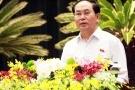 Chủ tịch nước: 'Tội phạm tham nhũng trốn đâu cũng không thoát'