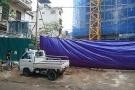 Hà Nội: Sập giàn giáo ở Hoàng Mai, 2 người chết, 4 người bị thương