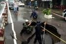 'Hố tử thần' sâu 2m bất ngờ xuất hiện ở Nha Trang