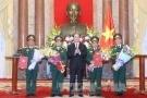 Bộ Quốc phòng có thêm 4 Thượng tướng