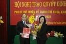 Phó Giám đốc Sở GTVT Hà Nội làm Phó Bí thư Huyện uỷ Thanh Trì
