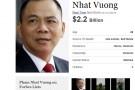 Tỷ phú USD giàu nhất toàn cầu 2016: Bất ngờ từ Việt Nam