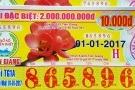 Vé số kiến thiết tăng giải đặc biệt lên 2 tỉ đồng