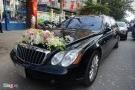 Maybach 57S trong đám cưới Hoa hậu Thu Ngân và đại gia Doãn Văn Phương giá bao nhiêu?