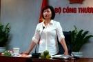 Cổ phiếu Điện Quang trồi sụt theo tin Thứ trưởng Hồ Thị Kim Thoa