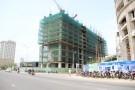 Công trình không phép bị đình chỉ vẫn xây được đến... tầng 10