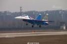 Hình ảnh 'đội bay tráng sĩ' Su-30SM dũng mãnh tại Nội Bài