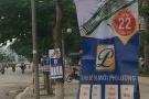 Phạt 10 triệu đồng cho hành vi treo quảng cáo trên cây xanh, cột điện
