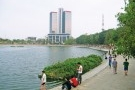 Ông chủ Ecopark đề xuất lấp hồ Thành Công để lấy đất xây nhà