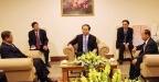 Bộ trưởng Trần Đại Quang tiếp Đoàn đại biểu cấp cao Bộ Nội vụ Vương quốc Campuchia và Bộ An ninh Cộng hòa DCND Lào