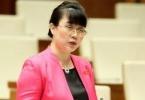 """Công ty cựu Đại biểu Quốc hội Nguyễn Thị Nguyệt Hường """"bán tháo"""" 70 triệu cổ phiếu Vinatex"""