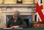 Anh chính thức khởi động tiến trình 'chia tay' châu Âu