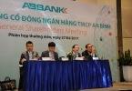 ĐHĐCĐ ABBank 2017: Trả cổ tức 3,8%, đưa cổ phiếu lên UPCoM