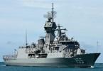 Tàu Hải quân Hoàng gia Austrailia HMAS Ballarat sắp cập cảng Đà Nẵng