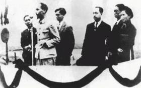 Bảo vệ Chủ tịch Hồ Chí Minh trong Lễ tuyên ngôn độc lập
