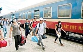 Từ tháng 11, Ga Sài Gòn khởi động bán vé tàu Tết Ất Mùi 2015