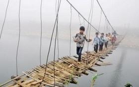 400 tỷ đồng xây dựng cầu treo dân sinh tại 28 tỉnh miền núi
