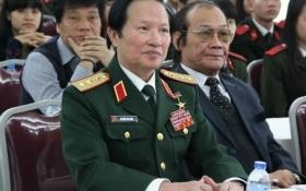 Thượng tướng Nguyễn Huy Hiệu tham dự lễ trao giải cuộc thi 'tìm hiểu pháp luật về biển, đảo VN'