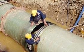 Vinaconex xây dựng dự án đường ống nước mới 1.200 tỷ đồng