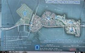 Đại diện Tuần Châu Ecopark nói gì về dự án 'đắp chiếu?'