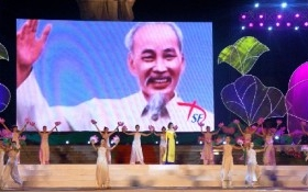 Ấn tượng Lễ hội Làng Sen năm 2015