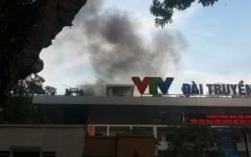 Cháy trường quay S1 đài truyền hình Việt Nam