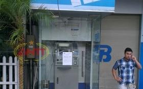 Khách hàng bức xúc vì ATM Ngân hàng Quân đội (MB) ngưng hoạt động quá lâu