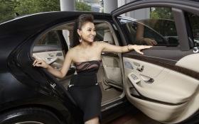 Mercedes S-Class của Thu Minh được chồng tặng, giá bao nhiêu ?