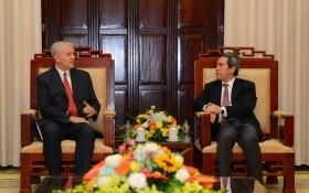 Thống đốc NHNN tiếp xã giao tân Giám đốc Quốc gia ADB
