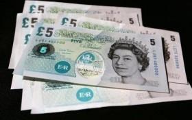 Phát hành đồng bảng Anh bằng polymer