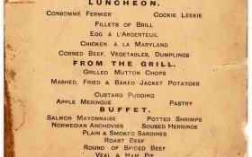 Có gì trên tờ thực đơn bữa trưa cuối cùng của tàu Titanic?