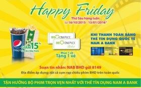 Niềm vui nhân đôi cùng thẻ tín dụng quốc tế Nam A Bank