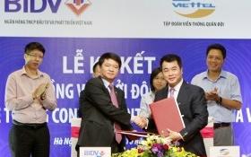 Viettel ký hợp đồng xây dựng Tổng đài giao tiếp khách hàng cho BIDV