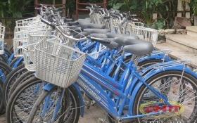 Dự án cho thuê xe đạp Hà Nội: Những chiếc xe vắng bóng người thuê