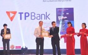 TPBank tiếp tục nhận giải thưởng Tin & dùng Việt Nam 2015