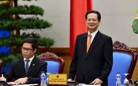 Thủ tướng gặp mặt các DN tham gia Diễn đàn Doanh nghiệp Việt Nam